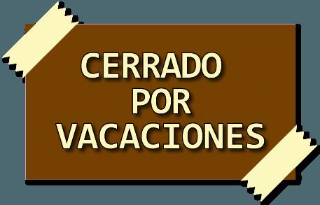 Cerrado por vacaciones | Cuinats Carrer Major
